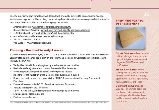 pci quick guide The payment card industry data security standard (pci dss) is a set of  pci  dss quick reference guide – understanding the payment.