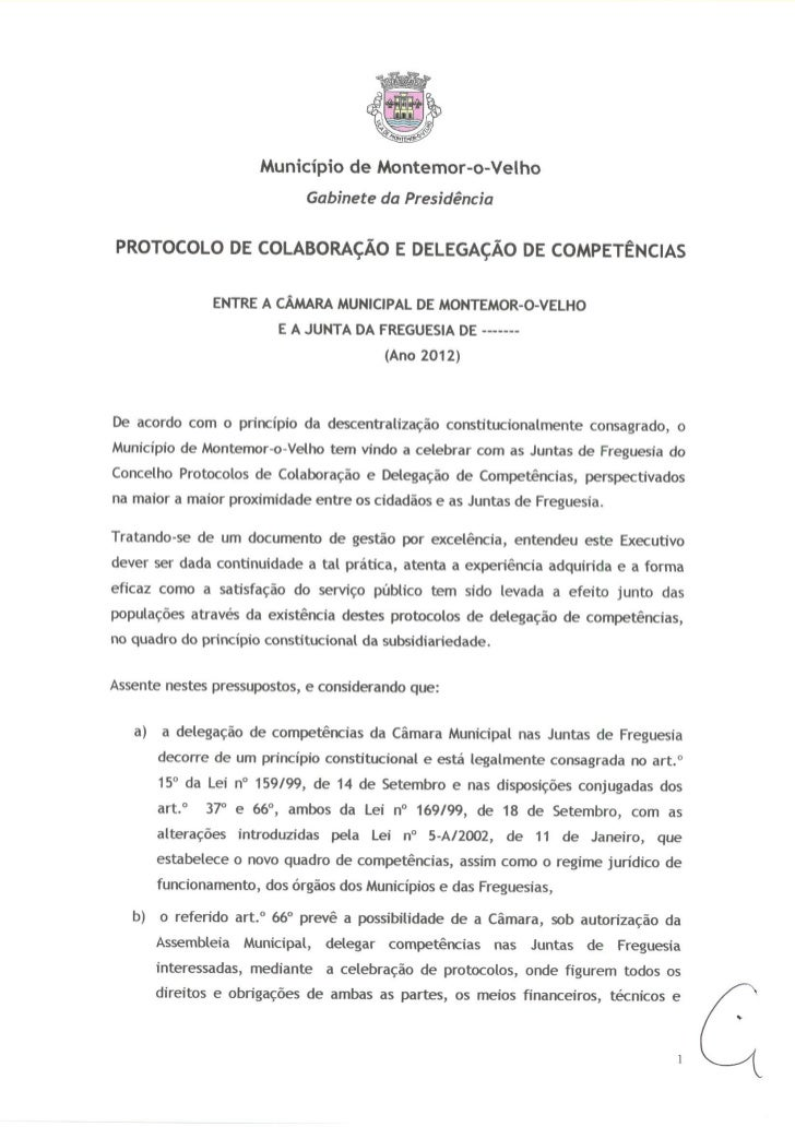 Protocolo e Colaboração