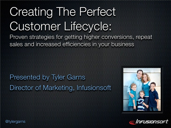 Creating The Perfect  Customer Lifecycle:  Proven strategies for getting higher conversions, repeat  sales and increased e...