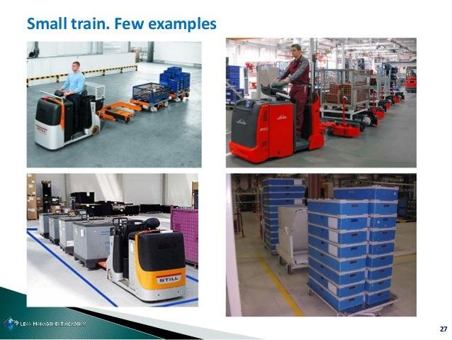 27 Small train. Few examples