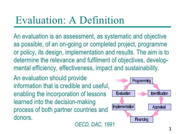 génial Evaluation: A Definition ...