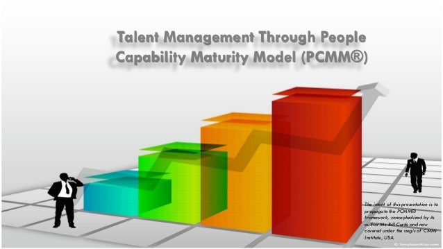 Talent Management Through People Capability Maturity Model (PCMM®)  The intent of this presentation is to propagate the PC...