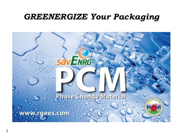 1 GREENERGIZE Your Packaging