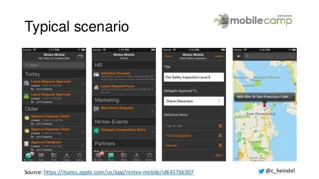 MobileCamp 2014: on{x} - Google Now zum Selberbauen Slide 3
