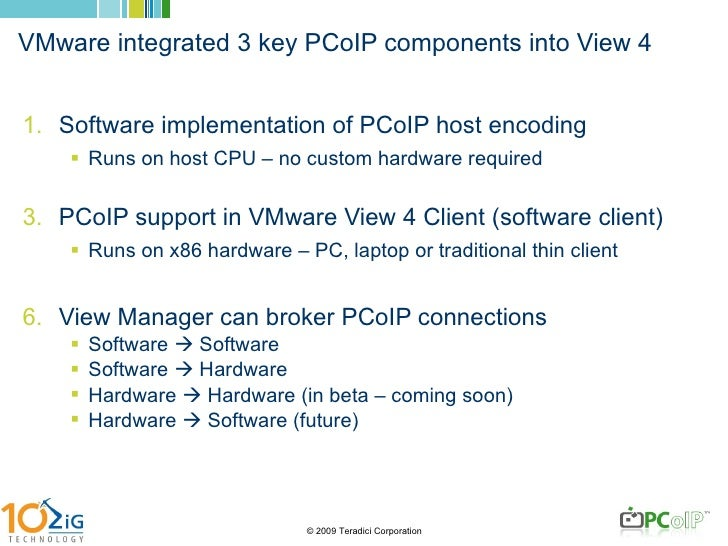 Understanding PCoIP and Zero Clients
