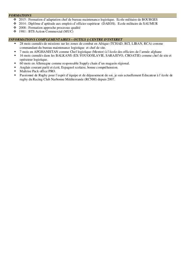 cv directeur logistique  supply chain  lean management
