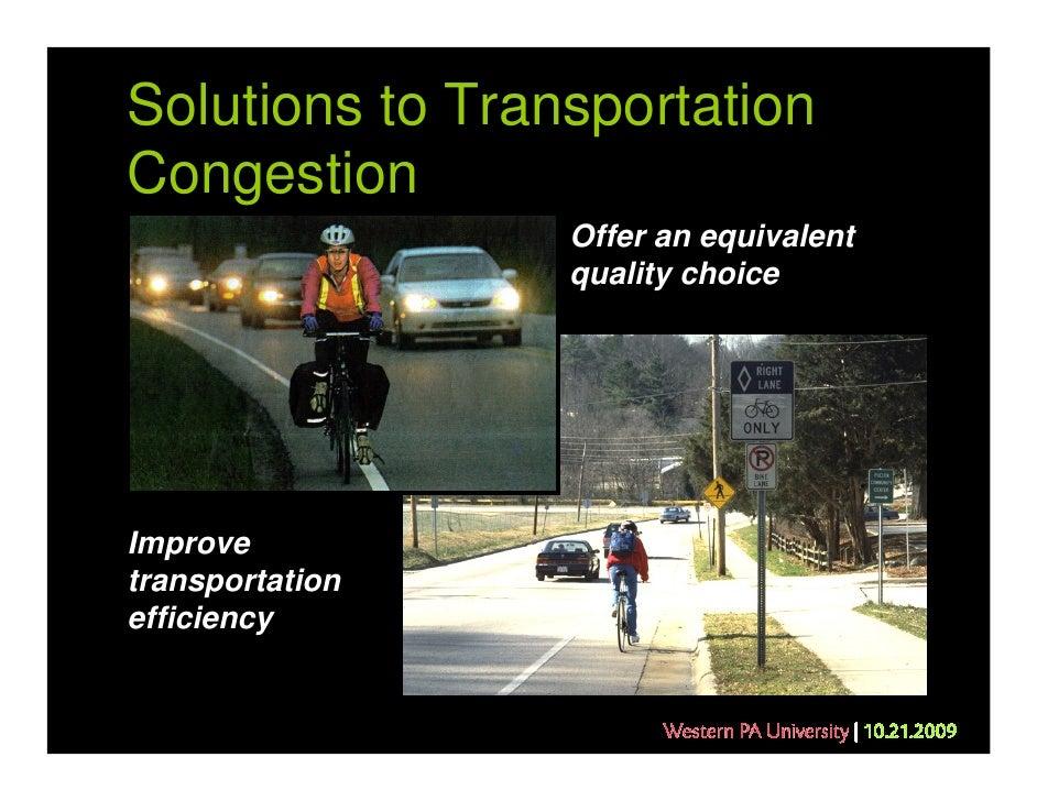 Alternative transportation greenways system plan essay