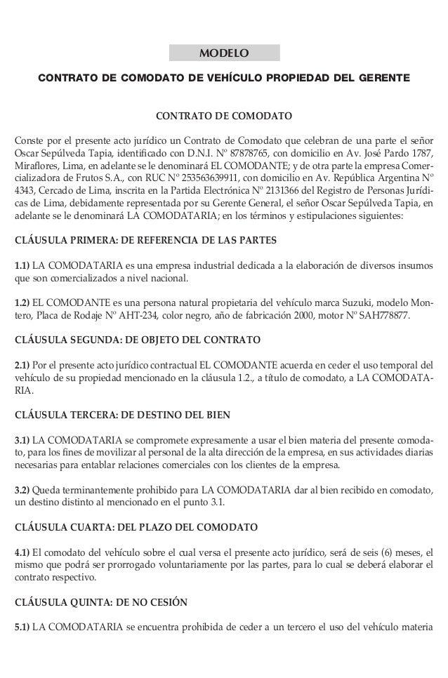 Pcontrato for Contrato documento