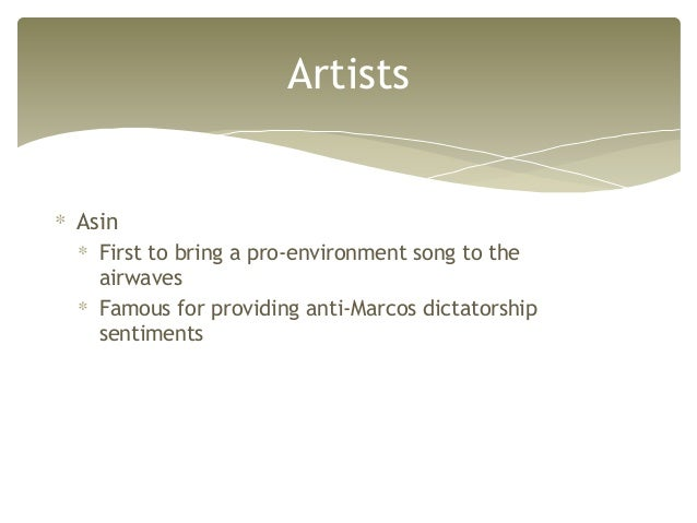 PHILIPPINE CONTEMPORARY POPULAR MUSIC-PINOY ROCK