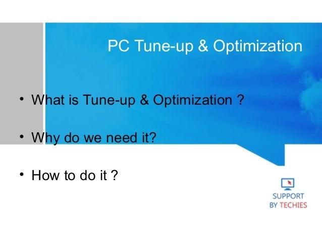 PC Optimization Services Slide 2