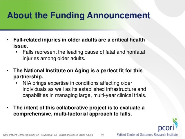 activty announcement for older adults