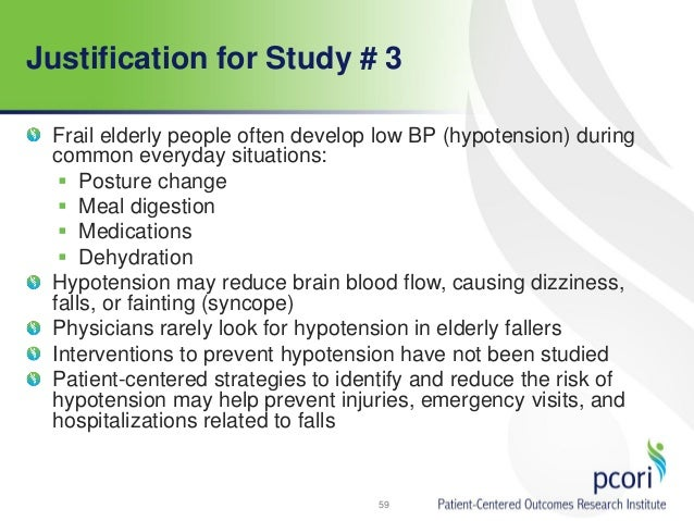 Prevention of Falls in the Elderly