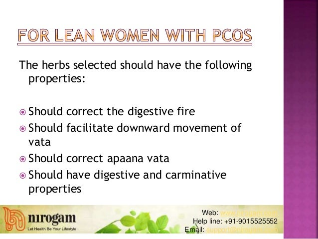 PCOS Medications in Ayurveda
