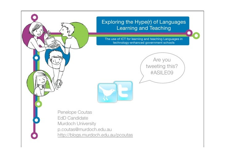 Exploring the Hype(r) of Languages                           Learning and Teaching                       The use of ICT fo...