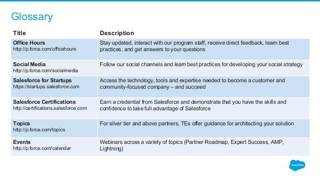 partner community user guide for isv partners rh slideshare net salesforce user guide ppt salesforce user guide ppt