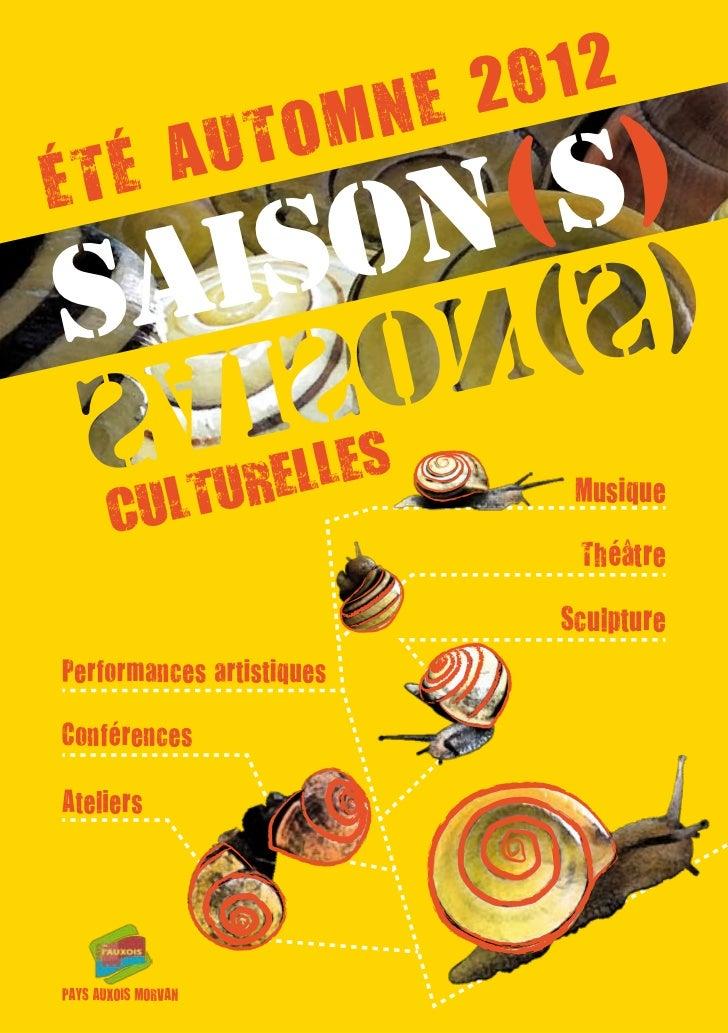 NE 2 012       UTOMÉ TÉ A    ON(S)SAIS        ELLES   ULTUR                  Musique  C                  Théâtre          ...