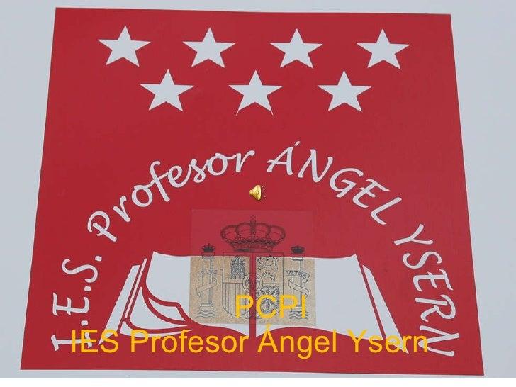 PCPI  IES Profesor Ángel Ysern