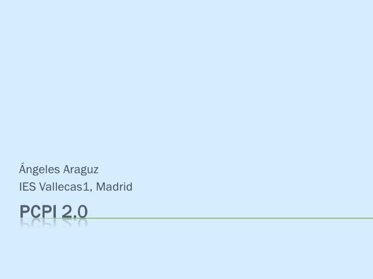 Ángeles Araguz IES Vallecas1, Madrid