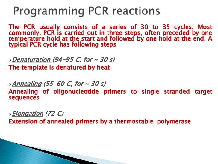 Following PCR, the amplification product can be detected using gelelectrophoresis where visualization of a band containing...