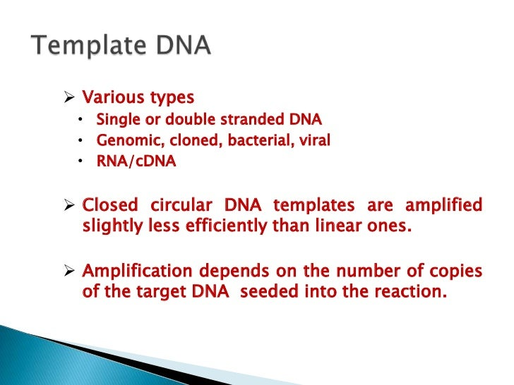 isolated dna products amplified via polymerase Thus, for routine pcr for the simple detection of product, taq dna polymerase or tfl dna polymerase is appropriate, while for high-fidelity pcr, such as gene cloning, gene expression or mutation analysis, pfu (1991) high-fidelity amplification using a thermostable dna polymerase isolated from pyrococcus furiosus.