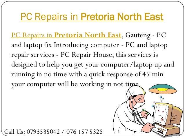 PC Repairs in Pretoria North East  PC Repairs in Pretoria North East, Gauteng - PC  and laptop fix Introducing computer - ...