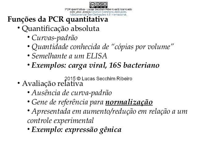 Antes da qPCR... • Northern Blotting (RNA) • Southern Blotting (DNA)