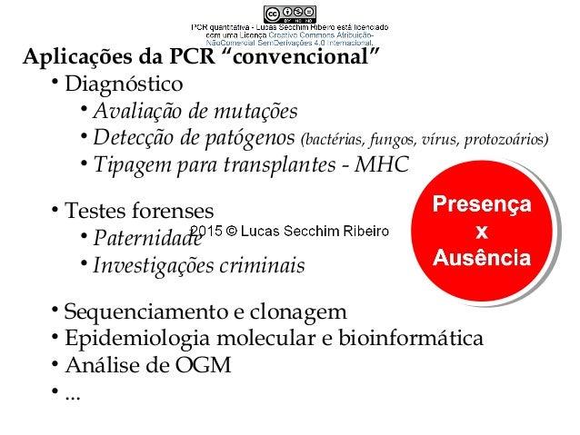 Importância do tampão e íon potássio na PCR • pH 8,3  pH 7,2 a 72º C • Tris/ Tris-Cl •Função enzimática da DNA polimerase...