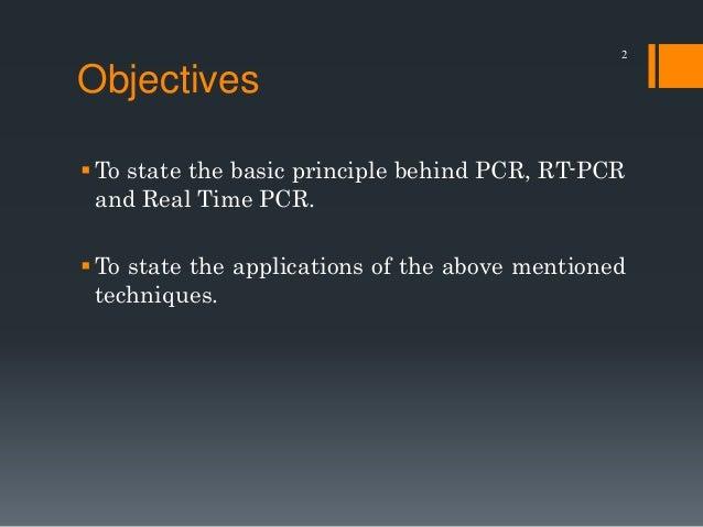 PCR, RT-PCR and qPCR