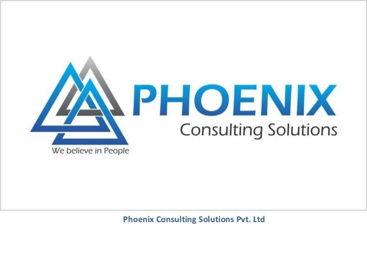 Phoenix Consulting Solutions Pvt. Ltd