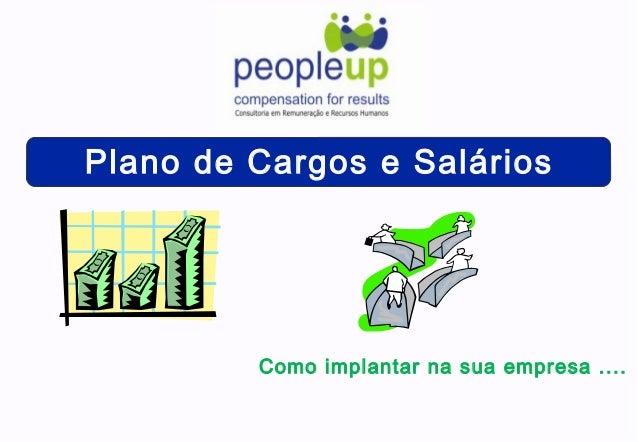Plano de Cargos e Salários Como implantar na sua empresa ....