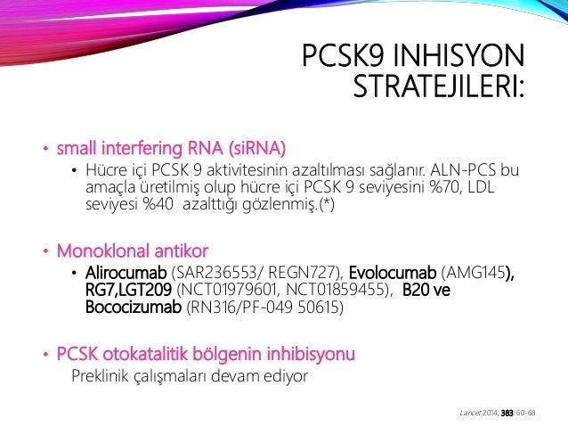 PCSK 9 İNHİBİTÖRLERİ