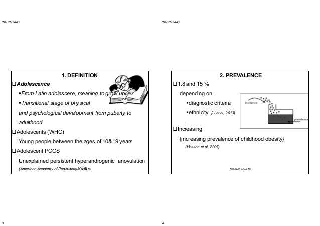 Pcso adolescent: 2020 Slide 2
