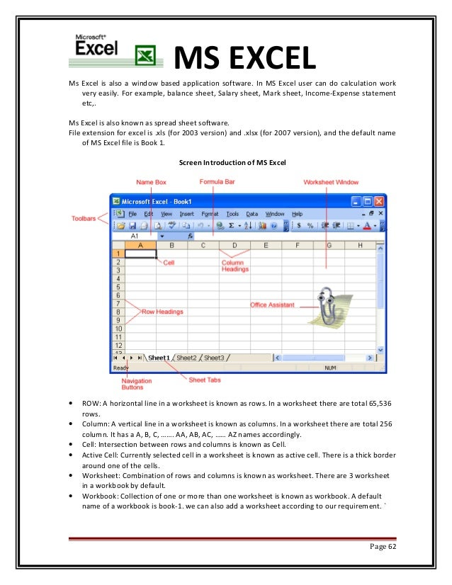 MS OFFICE AUTOMATION EBOOK