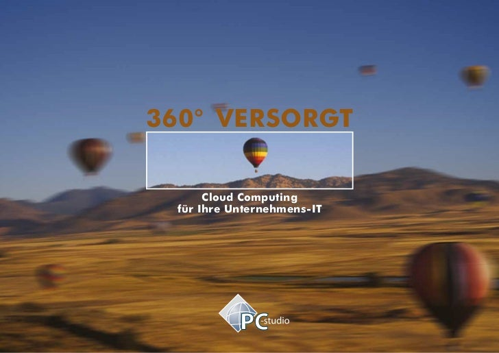 360° versorgt      Cloud Computing für Ihre Unternehmens-IT