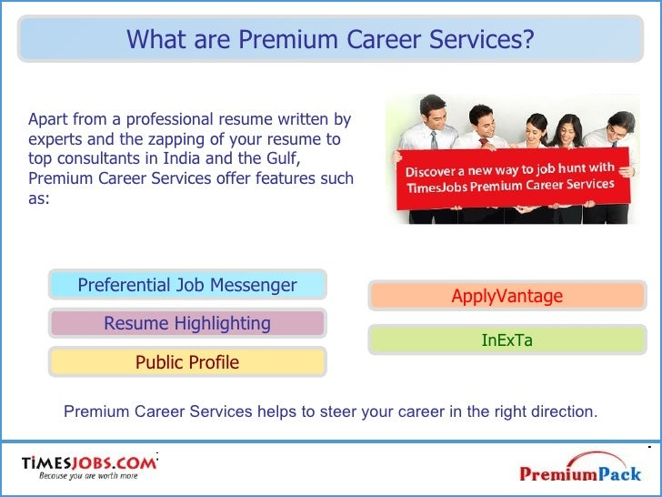 Premium Career Services