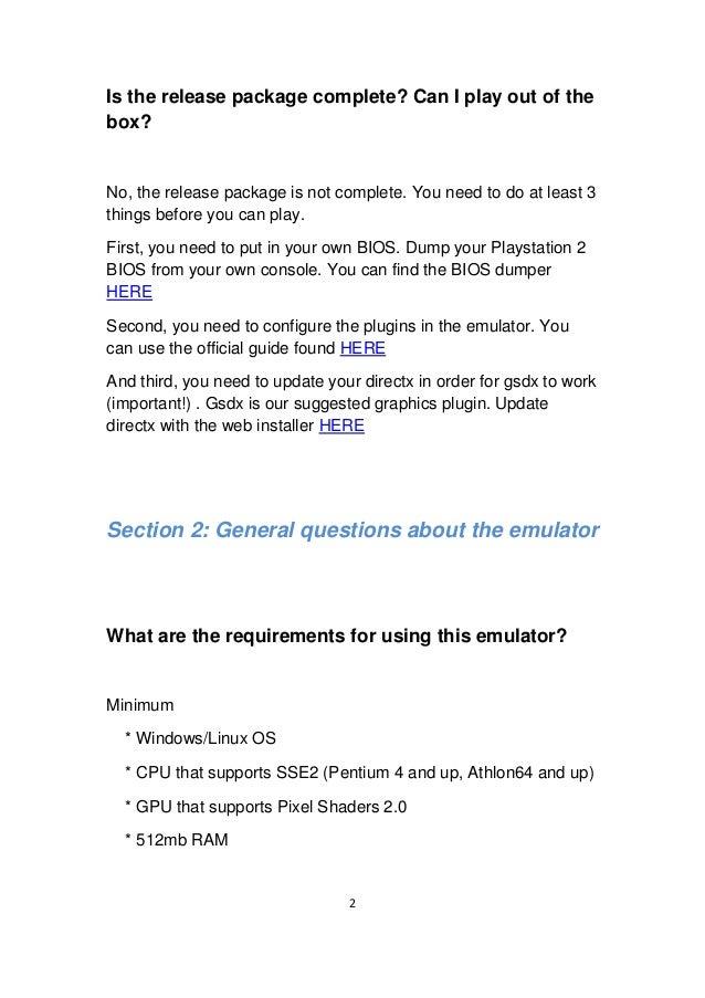 Pcsx2 Latest Gsdx Plugin Download