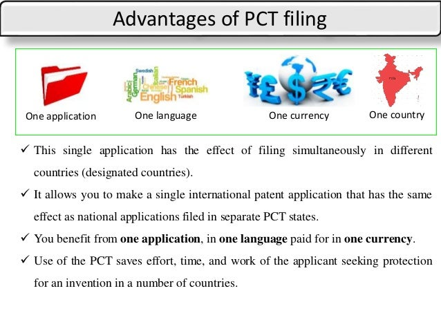 Patent Cooperation Treaty Pct Drafting