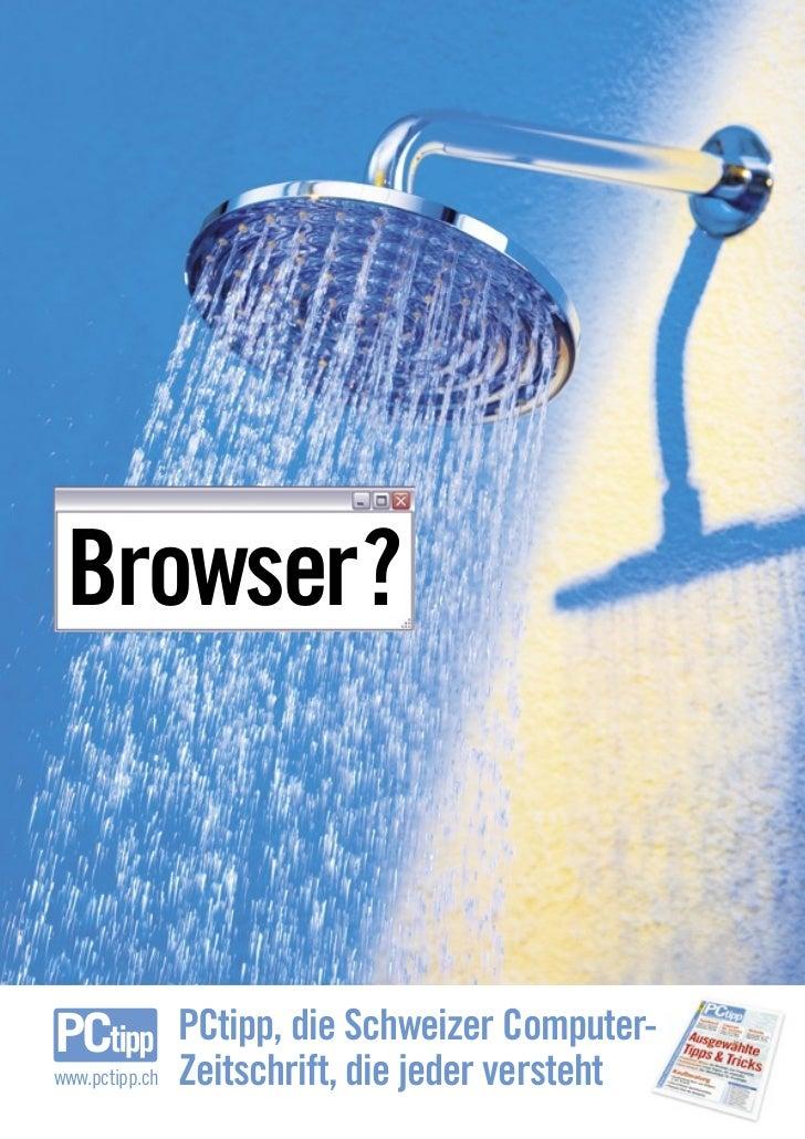 Browser?                    PCtipp, die Schweizer Computer- www.pctipp.ch   Zeitschrift, die jeder versteht