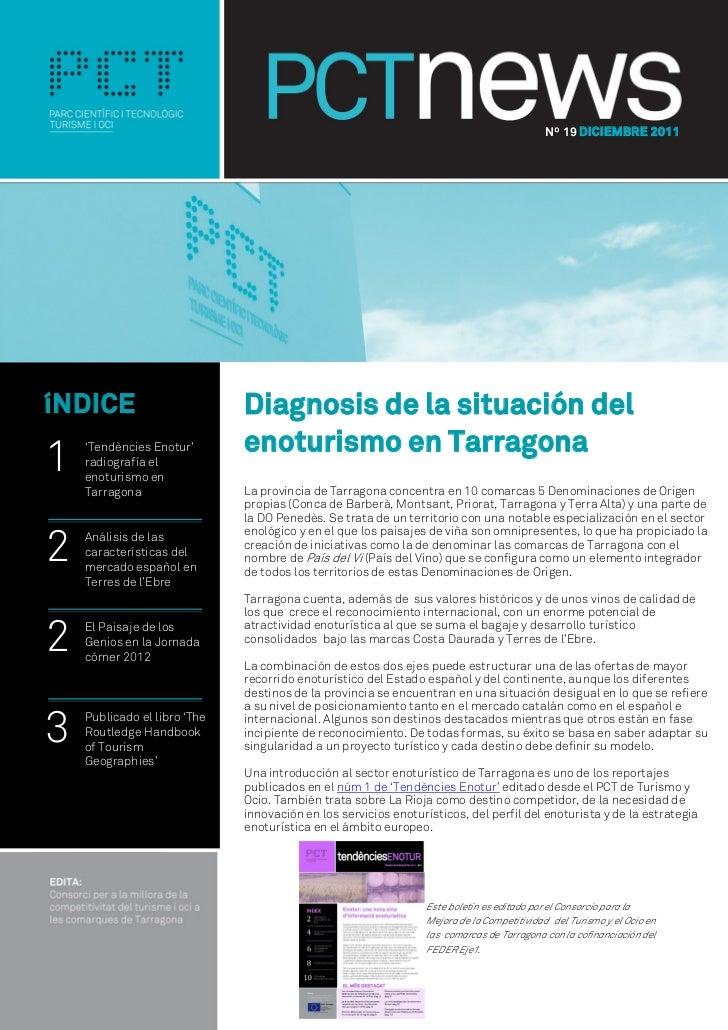 Nº 19 DICIEMBRE 2011íNDICE                        Diagnosis de la situación del                              enoturismo en...