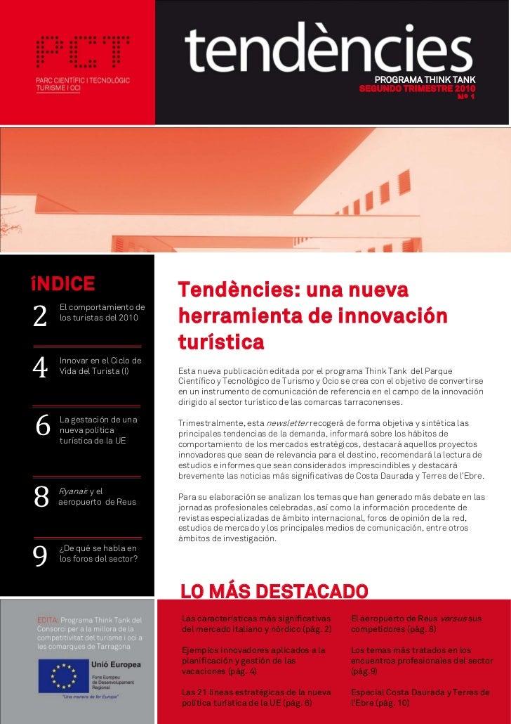 PROGRAMA THINK TANK                                                                             SEGUNDO TRIMESTRE 2010    ...