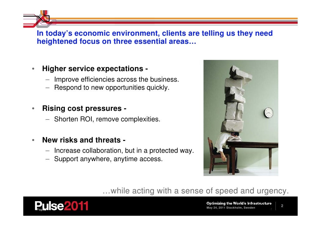 IBM Tivoli Live - A new way of managing your IT services - PCTY 2011 Slide 3