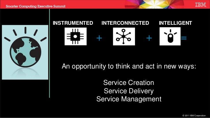 Service Creation, Service Delivery, Service Management - PCTY 2011 Slide 2