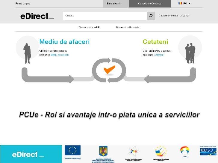 """Platforma pentru Integrarea Serviciilor E-Guvernare in SEN""""         (PISEG)   urmareste:•   necesitatea de a creste eficie..."""