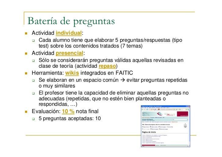Utilizando herramientas de la Web 2.0 en la adaptación de la materia Sistemas Multiagente al EEES