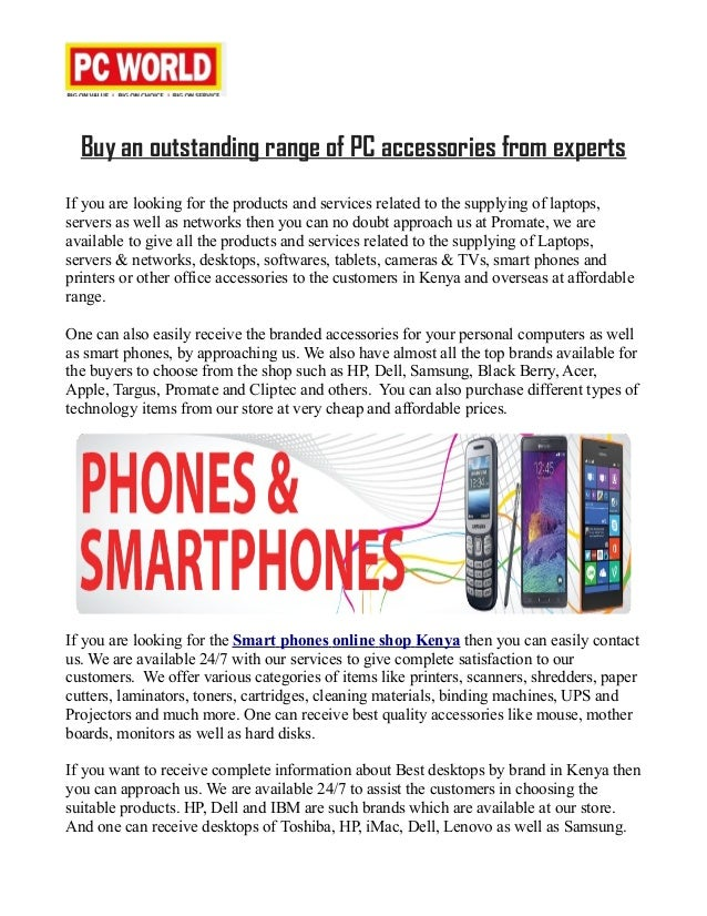 Computer accessories online shopping Kenya