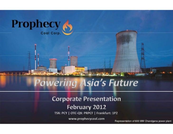 Representation of 600 MW Chandgana power plant