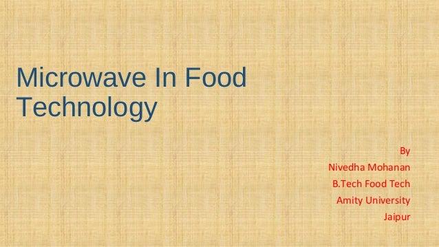 Microwave In Food