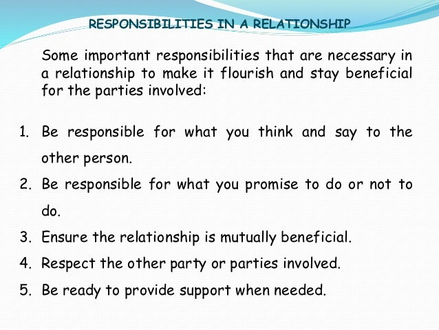 why are personal relationships important