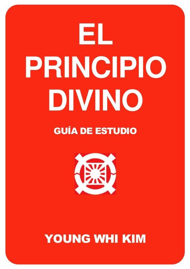 EL PRINCIPIO DIVINO GUÍA DE ESTUDIO  YOUNG WHI KIM i