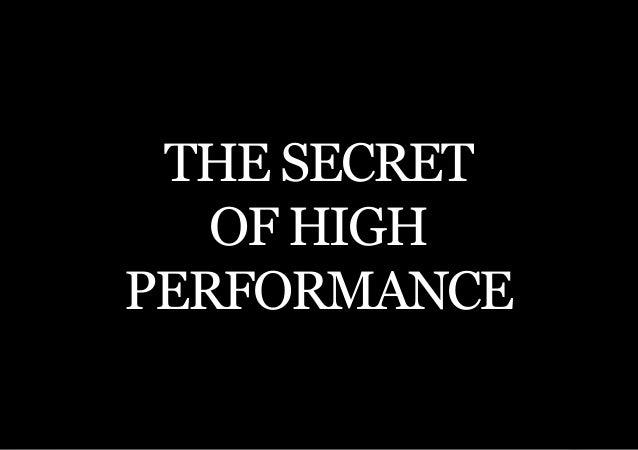 THE SECOND LITTLE BOOK OF LEADERSHIP THE SECRET   OF HIGHPERFORMANCE     17